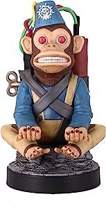 精致游戏电缆小子 - COD: Monkybomb - 有线电话和控制器支架