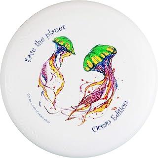 eurodisc 175 克 * *终极飞盘设计水母 - Save The Planet Ocean Edition 特殊防刮全彩印刷