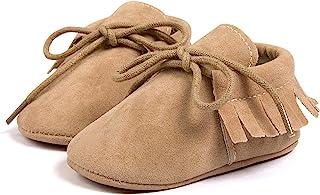 男婴女童运动鞋软底防滑橡胶软帮鞋新生儿牛津乐福鞋幼儿学步鞋学步鞋