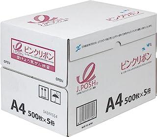 日本制纸 复印纸 粉红丝带PPC 64g/m2 A4/2500枚 白色