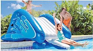 新款 INTEX Kool Splash 充气泳池水滑梯   58849EP