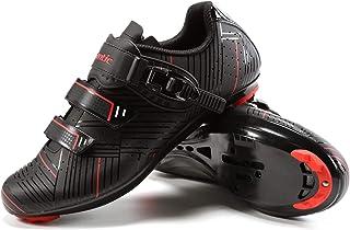 Santic 自行车鞋 公路骑行鞋 山地自行车鞋 兼容 SPD 和 Delta Lock 踏板自行车鞋 - 公路