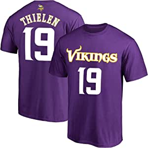 Outerstuff NFL 青少年 8-20 球队颜色 涤纶 Performance Mainliner 球员姓名和号码球衣 T 恤