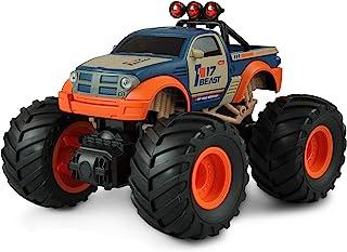 Amewi 22483 Big Buster 怪兽卡车 1:18 遥控,2.4 GHz,RTR,橙色/蓝色