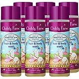 Childs Farm 洗发沐浴露,黑莓和苹果提取物,250毫升,6件