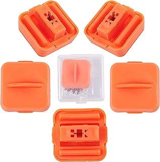 GORGECRAFT 纸切割器替换刀片纸修剪器刀片 A4 切割器,带工艺纸和照片自动*保护装置(1 包橙色保护装置,12 包刀片)
