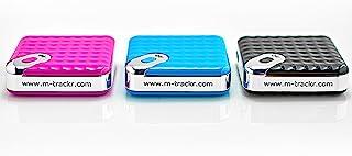 M-TRACKR 移动蓝牙追踪器 - 仅用于 IOS - 智能物品查找器,用于您的钥匙、钱包、智能手机、钱包、包 - 作为相机触发器和宠物查找器(一套 3 件)
