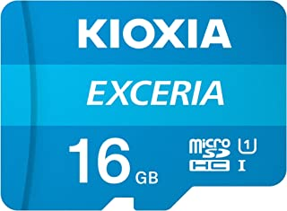 Kioxia 16GB Exceria U1 Class 10 microSD