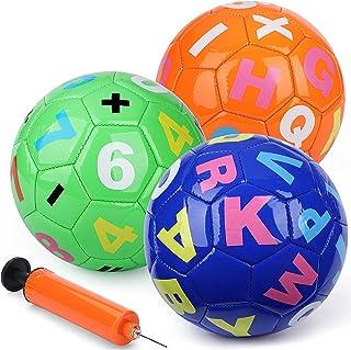 数字足球字母迷你足球室内和室外运动玩具幼儿可爱卡通儿童球男孩和女孩儿童足球生日礼物 / 派对 / 节日。