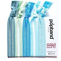 发带 - Popband London 发带(5 条装) - 为全天(和夜晚设计!) 佩戴 - 可以防止弯头折 - 时尚…