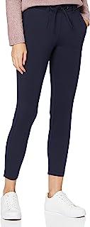 TOM TAILOR 女士平纹针织宽松长裤