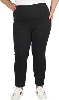Jules & Leopold 女式加大码罗马布细褶打底裤