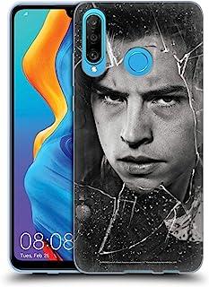 官方Riverdale Jughead Jones 破碎玻璃肖像软胶保护套适用于华为 P30 Lite