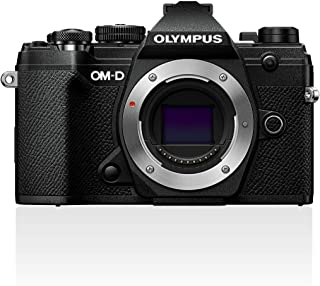 Olympus 奥林巴斯 OM-D E-M5 Mark III Micro 4 Thirds 系统相机机箱 20 MP 传感器 5 轴图像稳定器 强大的自动对焦 电子OLED 取景器 4K 视频 WLAN 蓝牙 黑色