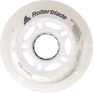 Rollerblade Moonbeam 72 毫米轮子,4 件装