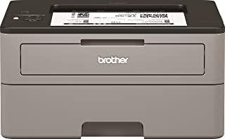 brother 兄弟 HL-L2350DW 黑白激光打印机 – 单功能,无线/USB 2.0,双面打印,30PPM,A4打印机,小办公室/家庭办公室打印机,浅灰/黑色