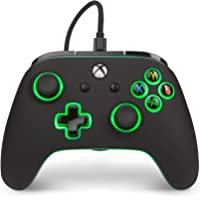 PowerA Spectra 增强型照明有线控制器,适用于 Xbox One、X 和 Xbox One S - Xbox…