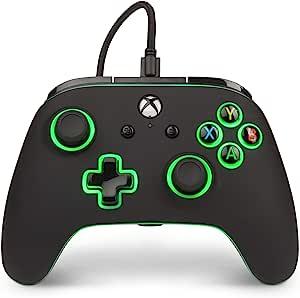 PowerA Spectra 增强型照明有线控制器,适用于 Xbox One、X 和 Xbox One S - Xbox One