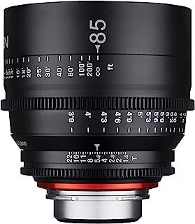 Xeen 15085T1.5PL T1.5 Cine 镜头 PL连接器 85 毫米 黑色