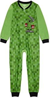 Minecraft 睡衣连衫裤 SSS 毛毯式睡衣 男孩无脚睡衣