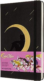 Moleskine - 限量版笔记本,Sailor Moon 限量版,Luna,横线页面,尺寸尺寸尺寸13 x 21厘米,颜色黑色