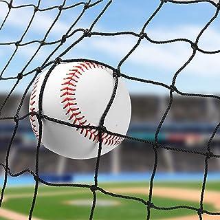 Wiseek 棒球垒球后挡网,重型运动网屏障尼龙棒球网 10'x10'/10'x20'/10'x30'