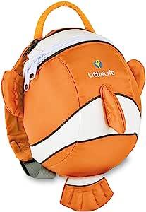 LittleLife 英国动物造型幼儿防走失小背包 小丑鱼