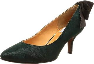 [LANVIN IN 蓝] 尖头鞋后跟蝴蝶结浅口鞋 女式
