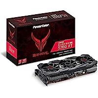 PowerColor 红魔 AMD Radeon RX 5700 XT 8GB AXRX 5700XT 8GBD6-3D…