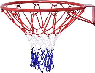 Goplus 篮球篮 材质:铁和PE网,篮子颜色为红色,篮子颜色为红白蓝,篮子外径:46cm
