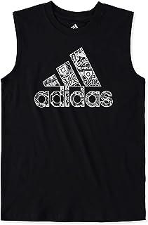 Adidas 阿迪达斯 男童无袖杂色 T 恤(大童)