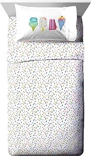 Jay Franco Trend Collector Be Sweet 幼儿床单套装 - 3 件套超柔软舒适儿童床上用品 - 防褪色超细纤维床单
