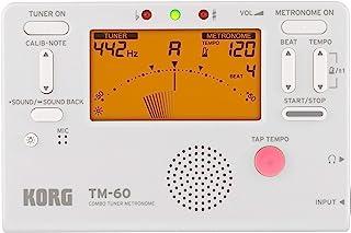 Korg TM60BK 调谐器金属,黑色TM60WH