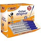 BiC Cristal Original 1.0 毫米圆珠笔 可重新填充 Pack of 90 + 10 Free 蓝色