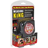 ONTEL MK-MC12/4 测量特大号 3 合 1 数字卷尺字符串模式,声波模式和滚轮模式
