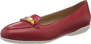 Geox 女士 D Annytah B 芭蕾平底鞋