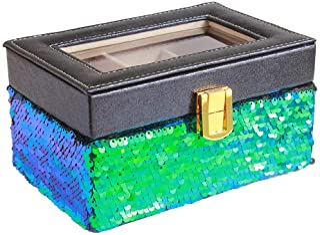 [MERLETT] MERLETT ROSA. MR0142 首饰盒 亮片BU MR0142