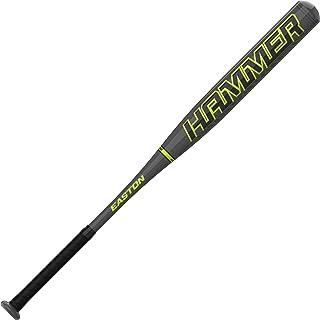 EASTON Hammer Power Loaded 慢投垒球球棒,2021,12 英寸(约 30.5 厘米)棒状,1 件铝材,SP21HM,批准适用于所有领域