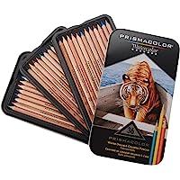 Prismacolor Premier 水溶性彩色铅笔套装,多种颜色,36支