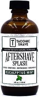 Taconic 剃须后水泥 4 盎司(约 113.4 克) - 桉树薄荷 - 皮肤冷却、清爽和保湿剃须后液体*,含*成分 - 美国工匠制造