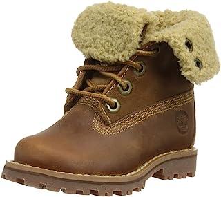 Timberland 6英寸 通用儿童 优质经典防水踝靴 带羊毛衬里