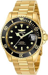 Invicta 8927OB Pro Diver 18k 离子镀金不锈钢男士手表
