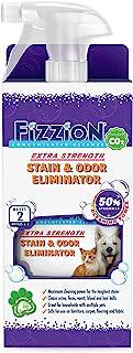 Fizzion Extra Strength 宠物污渍和异味去除剂 23 盎司(约 652.0 克)空喷雾瓶,带 2 个替换装