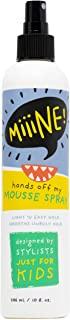 MiiiNE! Hair Mousse Spray 10 盎司(约 283.5 克)| Light Hold 儿童发胶替代卷发 - 清新气味和不含酒精的* - 无动物实验婴儿*产品 美国制造 | 由 Stylists For Kids 出品