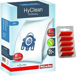 正品 GN HyClean 3D *集尘袋,适用于 Miele 吸尘器+免费清新剂