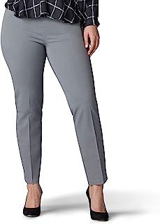 LEE 女式加大码塑形修身直筒套裤