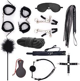 Welkin 11 黑色可调节皮革编织运动套装