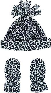 Grand Sierra 幼童女童 2-4 图案细绒袖口帽子和连指帽
