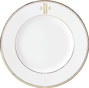 Lenox 联邦金块交织字母餐具 字母 D 872347