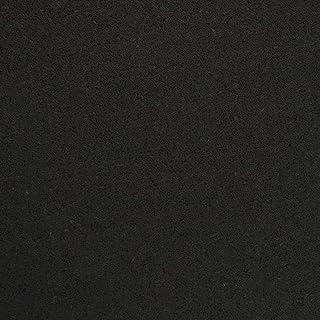 Recoil Fitness 重型 5/16 英寸 (8mm) 橡胶地板,18 英寸 x 18 英寸联锁橡胶瓷砖,运动垫,家居和车库健身房,美国制造(后备箱,黑色)